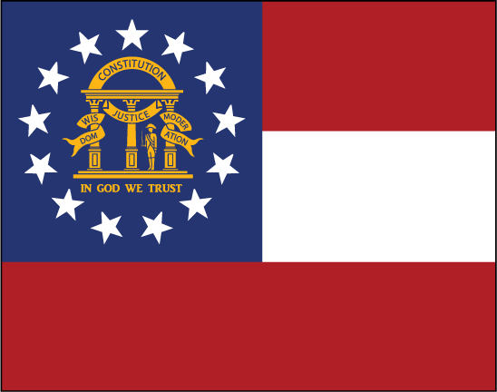 State of Georgia Flag