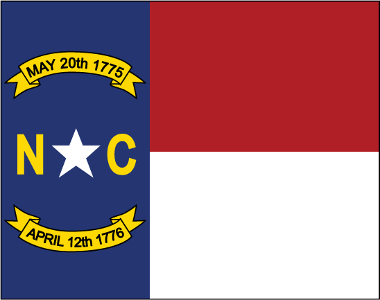State of North Carolina Flag
